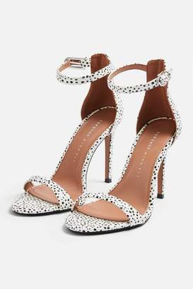 f9fdc502c85d Topshop WIDE FIT SUSIE Two Part Skinny Heel Sandals
