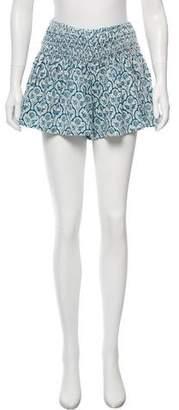 Etoile Isabel Marant Printed Mini Shorts