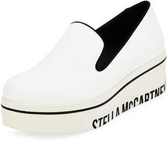 Stella McCartney Binx Faux-Leather Sneakers