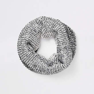River Island Boys grey ombre knit scarf