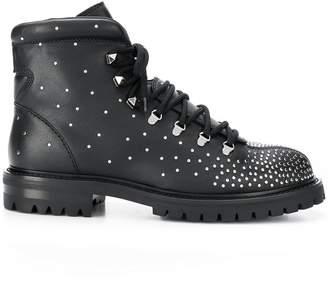 Valentino chunky combat boots