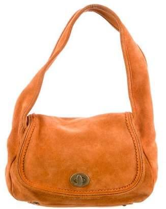 Miu Miu Suede Shoulder Bag