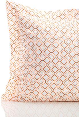 SFERRA Deagan Sham - Tangerine $100 thestylecure.com