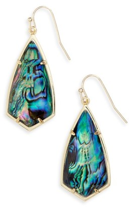Women's Kendra Scott Carla Semiprecious Stone Drop Earrings $70 thestylecure.com