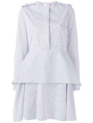 Stella McCartney striped peplum dress