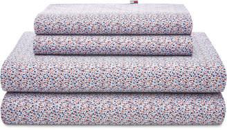 Tommy Hilfiger Novelty Print Twin Sheet Set Bedding