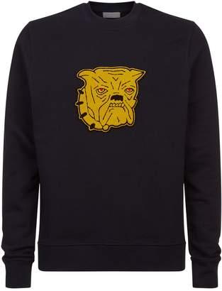 Sandro Bulldog Patch Sweater