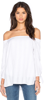 Bailey 44 Yarrow Top in White $148 thestylecure.com
