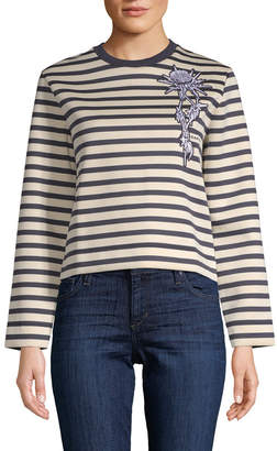 Carven Deauville Striped Sweater