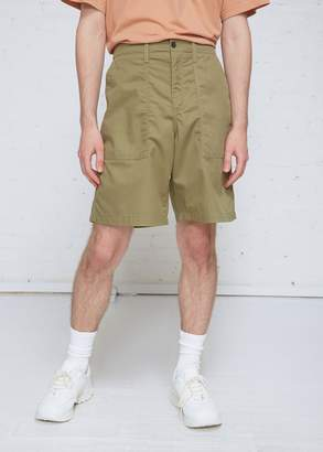 Our Legacy Tactical Twill Army Shorts