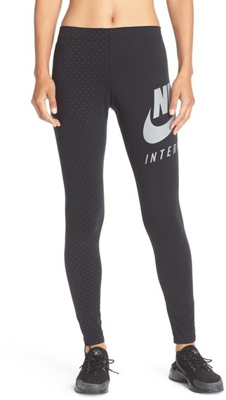 Nike 'International' Graphic Leggings