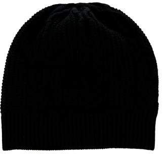 Burberry Wool & Silk Cable Knit Beanie