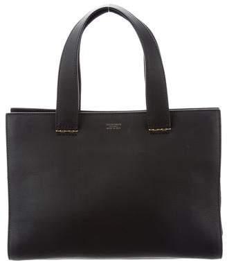 Giorgio Armani Smooth Leather Tote