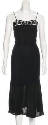 CNC Costume National Maxi Knit Dress