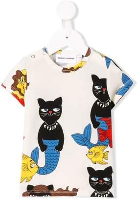 Mini Rodini Cat Mermaid T-shirt