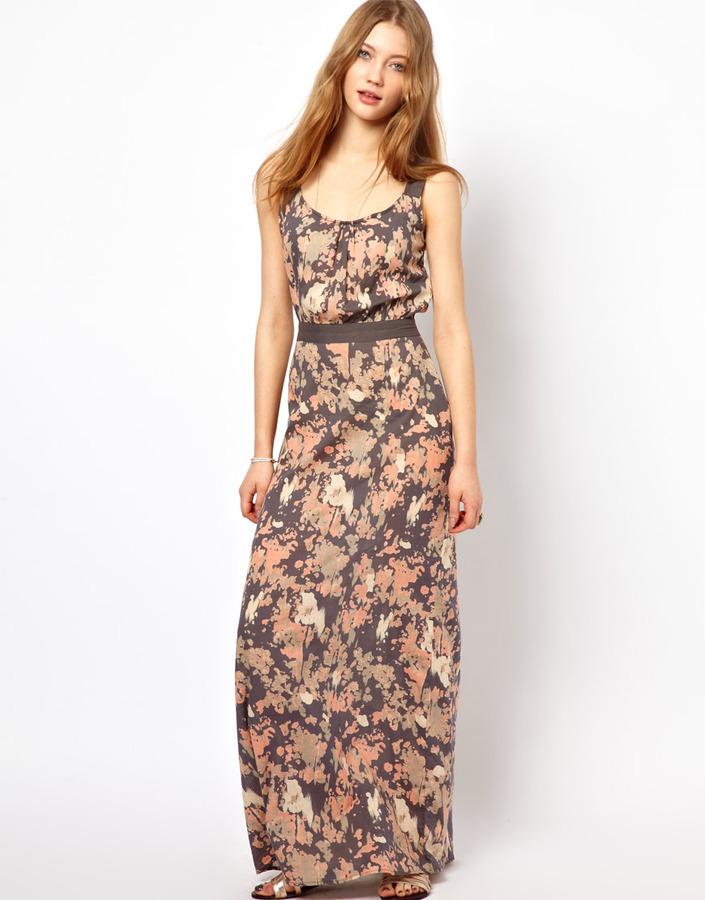 Winter Kate Nymph Maxi Dress in Print