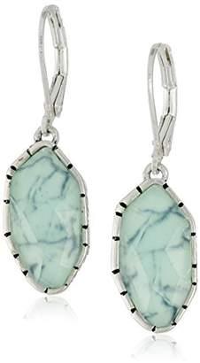 The Sak Irregular Stone Drop Earrings
