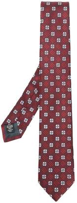Ermenegildo Zegna floral print tie