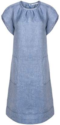 Agnona midi denim look dress