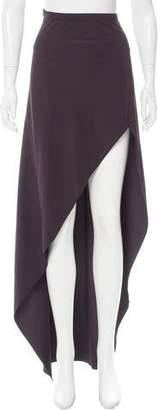 Narciso Rodriguez Asymmetrical Maxi Skirt