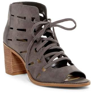 Vince Camuto Tressa Perforated Leather Block Heel Sandal