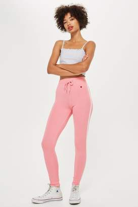 Topshop Slim Joggers with Side Stripe