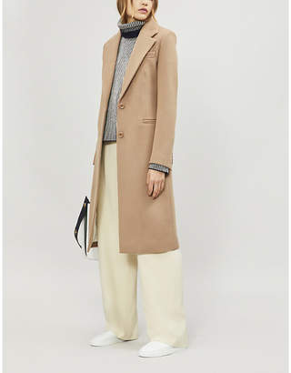 Joseph Marline tailored wool-blend car coat