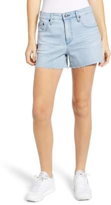 AG Jeans Hailey Boyfriend Cutoff Denim Shorts