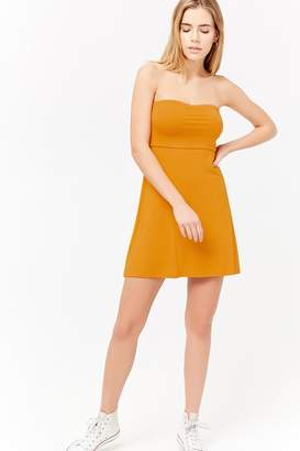 Forever 21 Strapless Fit & Flare Dress