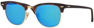 Ray-Ban Clubmaster Mirrored Sunglasses, RB3016 51 $175 thestylecure.com