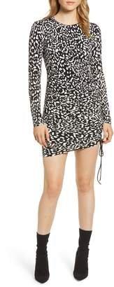 Bailey 44 Boogie Wonderland Leopard Print Minidress