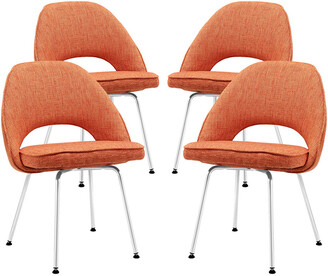 Modway Cordelia Dining Chairs Upholstered Fabric Set