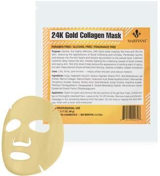 Martinni Beauty 24K Gold Collagen Facial Mask