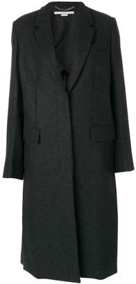 Stella McCartney long concealed coat