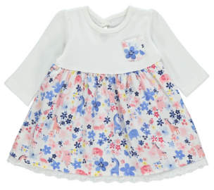 George Floral Print Long Sleeve Dress