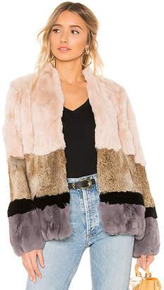 Heartloom Chandler Rabbit Fur Jacket
