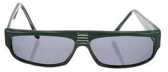 Alain Mikli Rectangular Tinted Sunglasses