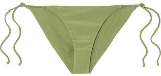 JADE SWIM Ties Bikini Briefs - Sage green
