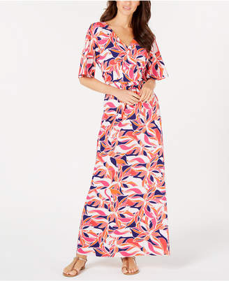 Lani Pappagallo Printed Maxi Dress