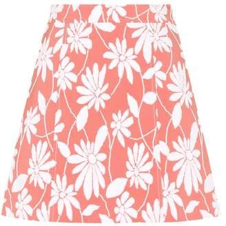 Miu Miu Exclusive to mytheresa.com jacquard A-line skirt