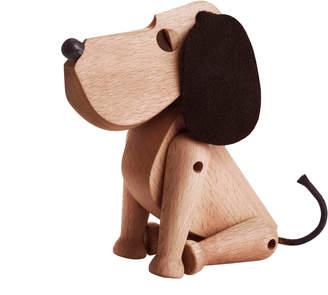 Architectmade Rufus Beech & Leather Dog Model