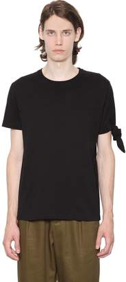 J.W.Anderson Single Knot Cotton Jersey T-Shirt