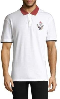 Bally Colorblock Polo Shirt