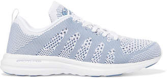 APL Athletic Propulsion Labs Techloom Pro Mesh Sneakers - Sky blue
