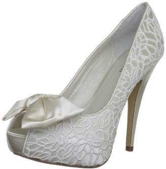 Menbur Wedding Women's Galatea Lace Bridal 05370X004