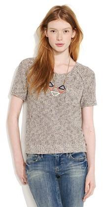 Marled sandbar sweater