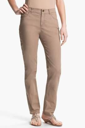 Lafayette 148 New York Primo Denim Curvy Fit Slim Leg Jean