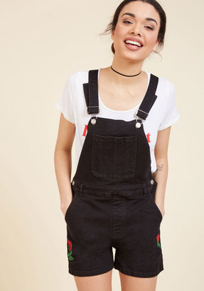 Shortalls and Sweet Denim Romper in XL $79.99 thestylecure.com