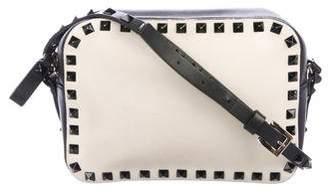 Valentino Monochrome Rockstud Camera Bag