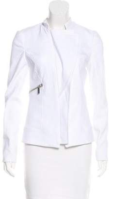 Thomas Wylde Zip-Accented Long Sleeve Jacket